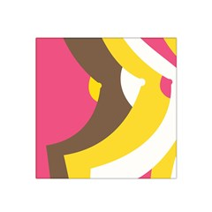 Breast Pink Brown Yellow White Rainbow Satin Bandana Scarf by Mariart