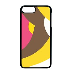 Breast Pink Brown Yellow White Rainbow Apple Iphone 7 Plus Seamless Case (black) by Mariart