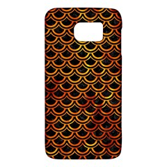 Scales2 Black Marble & Fire Galaxy S6 by trendistuff