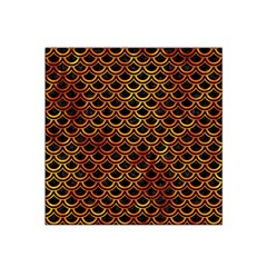 Scales2 Black Marble & Fire Satin Bandana Scarf by trendistuff