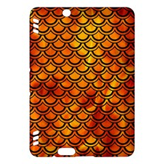 Scales2 Black Marble & Fire (r) Kindle Fire Hdx Hardshell Case by trendistuff