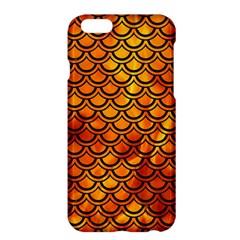 Scales2 Black Marble & Fire (r) Apple Iphone 6 Plus/6s Plus Hardshell Case by trendistuff