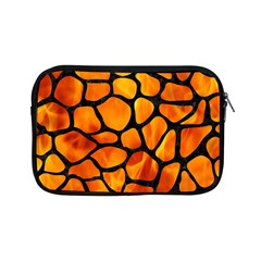 Skin1 Black Marble & Fire Apple Ipad Mini Zipper Cases by trendistuff