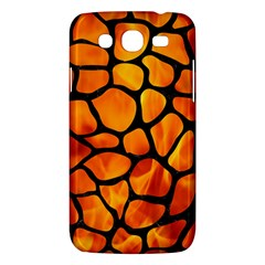 Skin1 Black Marble & Fire Samsung Galaxy Mega 5 8 I9152 Hardshell Case  by trendistuff