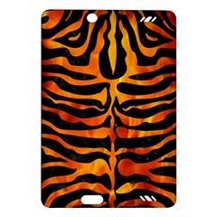 Skin2 Black Marble & Fire Amazon Kindle Fire Hd (2013) Hardshell Case by trendistuff