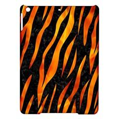 Skin3 Black Marble & Fire Ipad Air Hardshell Cases by trendistuff