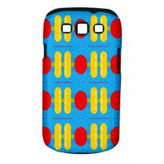 Ovals And Stripes Pattern                      Samsung Galaxy S Ii I9100 Hardshell Case (pc+silicone) by LalyLauraFLM