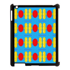 Ovals And Stripes Pattern                      Apple Ipad Mini Hardshell Case (compatible With Smart Cover) by LalyLauraFLM