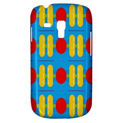 Ovals And Stripes Pattern                      Samsung Galaxy Ace Plus S7500 Hardshell Case by LalyLauraFLM