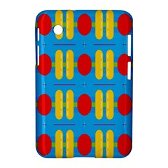 Ovals And Stripes Pattern                      Apple Iphone 5c Hardshell Case by LalyLauraFLM