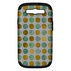 Green And Golden Dots Pattern                      Apple Iphone 5 Classic Hardshell Case by LalyLauraFLM