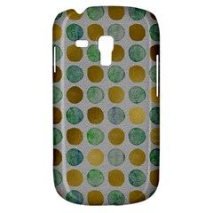 Green And Golden Dots Pattern                      Samsung Galaxy Ace Plus S7500 Hardshell Case by LalyLauraFLM
