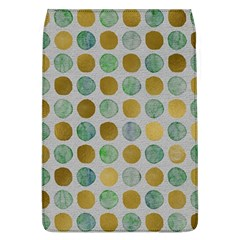 Green And Golden Dots Pattern                      Samsung Galaxy Grand Duos I9082 Hardshell Case by LalyLauraFLM