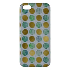 Green And Golden Dots Pattern                      Samsung Galaxy Note 3 Leather Folio Case by LalyLauraFLM