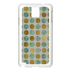 Green And Golden Dots Pattern                      Apple Iphone 5c Seamless Case (white) by LalyLauraFLM