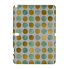 Green And Golden Dots Pattern                      Htc Desire 601 Hardshell Case by LalyLauraFLM