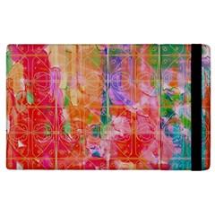 Colorful Watercolors Pattern                      Kindle Fire (1st Gen) Flip Case by LalyLauraFLM