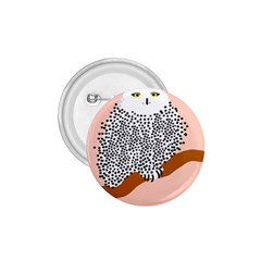 Animals Bird Owl Pink Polka Dots 1 75  Buttons by Mariart