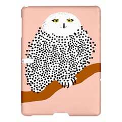 Animals Bird Owl Pink Polka Dots Samsung Galaxy Tab S (10 5 ) Hardshell Case  by Mariart