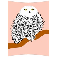 Animals Bird Owl Pink Polka Dots Back Support Cushion by Mariart