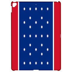 British American Flag Red Blue Star Apple Ipad Pro 12 9   Hardshell Case by Mariart