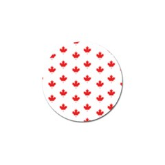 Canadian Maple Leaf Pattern Golf Ball Marker by Mariart