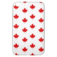 Canadian Maple Leaf Pattern Samsung Galaxy Tab 3 (8 ) T3100 Hardshell Case  by Mariart