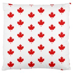 Canadian Maple Leaf Pattern Standard Flano Cushion Case (two Sides) by Mariart