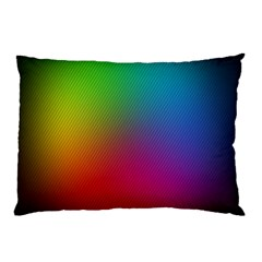Bright Lines Resolution Image Wallpaper Rainbow Pillow Case by Mariart