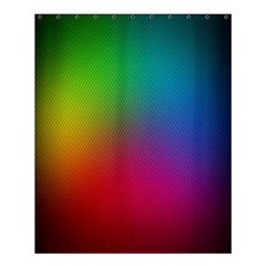 Bright Lines Resolution Image Wallpaper Rainbow Shower Curtain 60  X 72  (medium)  by Mariart