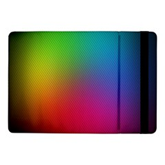 Bright Lines Resolution Image Wallpaper Rainbow Samsung Galaxy Tab Pro 10 1  Flip Case by Mariart