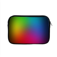 Bright Lines Resolution Image Wallpaper Rainbow Apple Macbook Pro 15  Zipper Case by Mariart