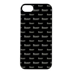 Beauty Moments Phrase Pattern Apple Iphone 5s/ Se Hardshell Case by dflcprints