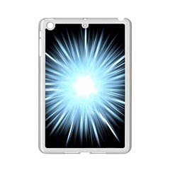 Bright Light On Black Background Ipad Mini 2 Enamel Coated Cases by Mariart
