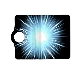 Bright Light On Black Background Kindle Fire Hd (2013) Flip 360 Case by Mariart