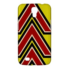Chevron Symbols Multiple Large Red Yellow Samsung Galaxy Mega 6 3  I9200 Hardshell Case by Mariart