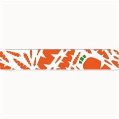 Carrots Fruit Vegetable Orange Small Bar Mats by Mariart