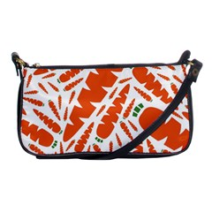 Carrots Fruit Vegetable Orange Shoulder Clutch Bags by Mariart