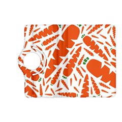 Carrots Fruit Vegetable Orange Kindle Fire Hd (2013) Flip 360 Case by Mariart