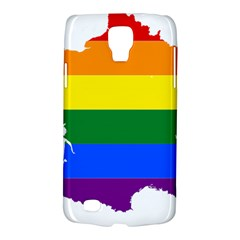 Flag Map Stripes Line Colorful Galaxy S4 Active by Mariart