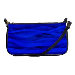 Dark Blue Stripes Seamless Shoulder Clutch Bags by Mariart