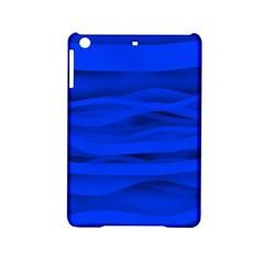 Dark Blue Stripes Seamless Ipad Mini 2 Hardshell Cases by Mariart