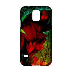 Flower Power, Wonderful Flowers, Vintage Design Samsung Galaxy S5 Hardshell Case  by FantasyWorld7