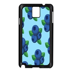 Fruit Nordic Grapes Green Blue Samsung Galaxy Note 3 N9005 Case (black) by Mariart