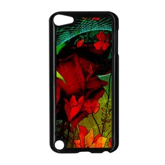 Flower Power, Wonderful Flowers, Vintage Design Apple Ipod Touch 5 Case (black) by FantasyWorld7