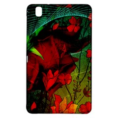 Flower Power, Wonderful Flowers, Vintage Design Samsung Galaxy Tab Pro 8 4 Hardshell Case by FantasyWorld7