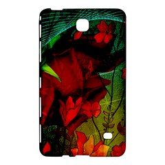 Flower Power, Wonderful Flowers, Vintage Design Samsung Galaxy Tab 4 (8 ) Hardshell Case  by FantasyWorld7