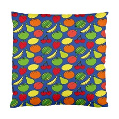 Fruit Melon Cherry Apple Strawberry Banana Apple Standard Cushion Case (two Sides) by Mariart