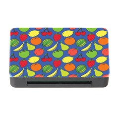 Fruit Melon Cherry Apple Strawberry Banana Apple Memory Card Reader With Cf by Mariart