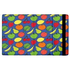 Fruit Melon Cherry Apple Strawberry Banana Apple Apple Ipad 2 Flip Case by Mariart